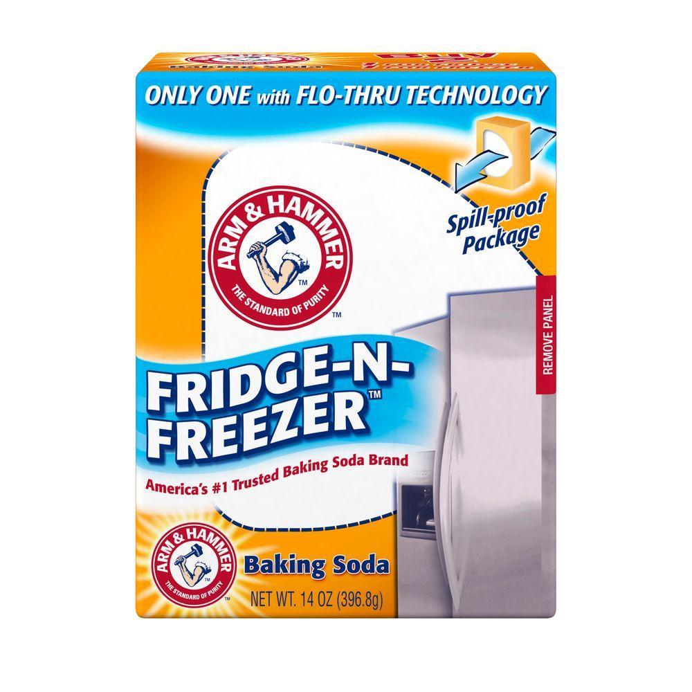 Arm & Hammer 14 oz. Baking Soda Fridge-N-Freezer Odor Absorber