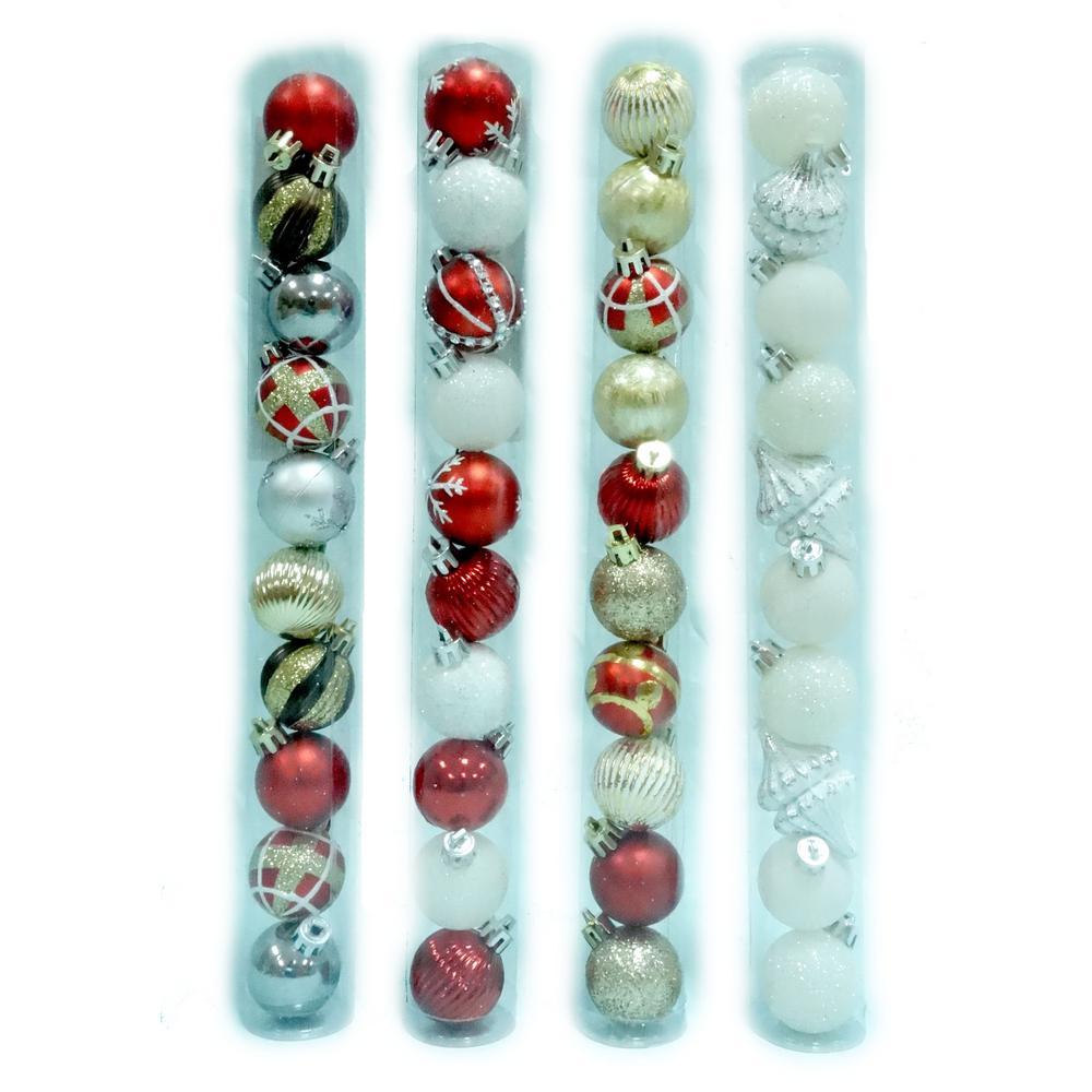 35 mm Pepperbery Lane Ornament Set (10-Count)