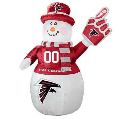 7 ft. Atlanta Falcons Inflatable Snowman