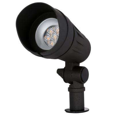 Low-Voltage Integrated LED (50W halogen equivalent) Outdoor Black Spot Light