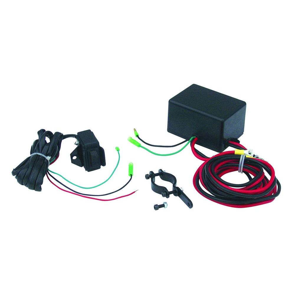 Superwinch LT2000 ATV Winch Switch Upgrade Kit with Handlebar Mountable  Switch and Solenoid