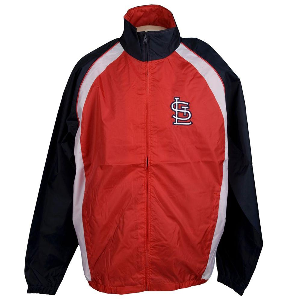 3G Cardinals Light Weight Full Zip Large Jacket-DISCONTINUED