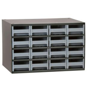 Akro Mils 16 Drawer Small Parts Steel Cabinet 19416 The