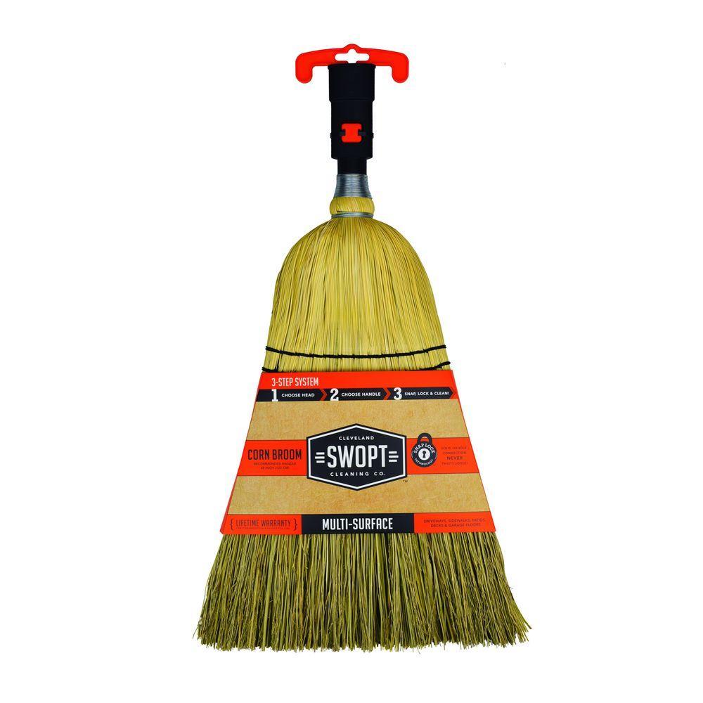 Medium Duty Corn Broom Head