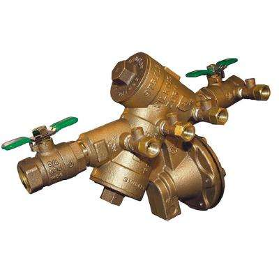 3/4 in. Brass Reduced Pressure Principle Backflow Preventer