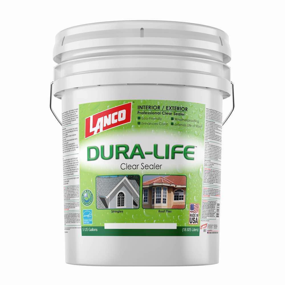 5 Gal. Lanco Dura-Life Clear Acrylic Roof Sealant