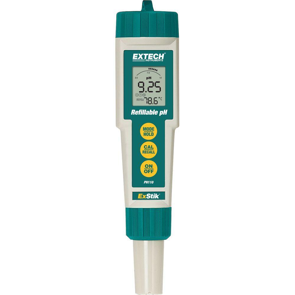 Extech Instruments Conductivity Pen Ec100 The Home Depot Circuit Writer Conductive Ink Exstik Ph Refillable Meter