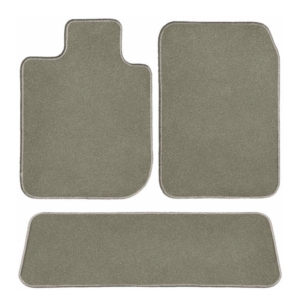 Coverking Custom Fit Front and Rear Floor Mats for Select Oldsmobile 442 Models Black CFMBX1OL7174 Nylon Carpet