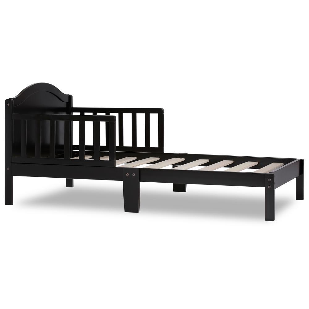 Sydney Black Toddler Adjustable Toddler Bed