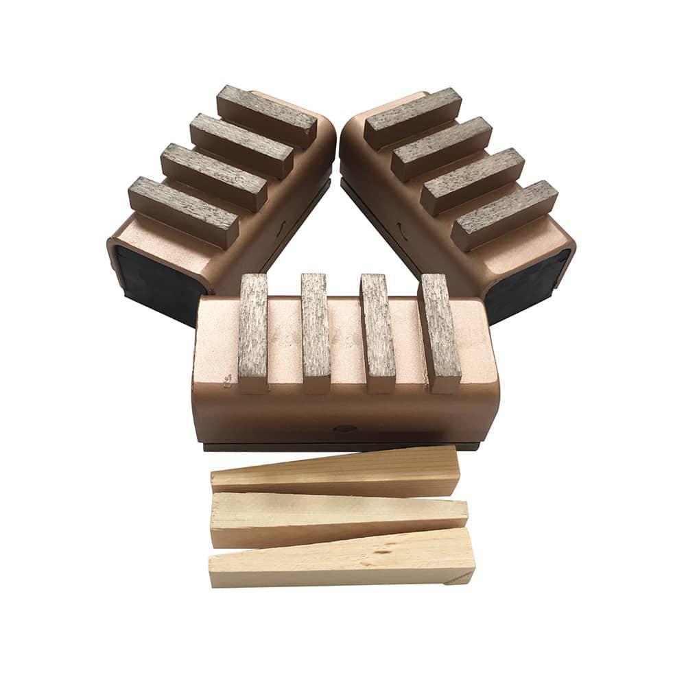 #60/80 Diamond Grinding Blocks for Edco Husqvarna Floor Grinders