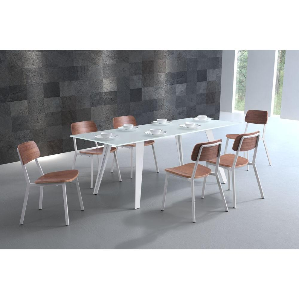 ZUO House White Dining Table