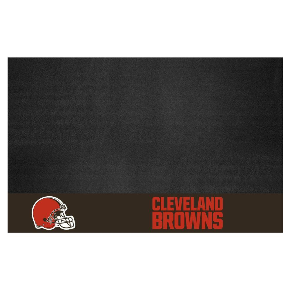 NFL Cleveland Browns 26 in. x 42 in. Grill Mat