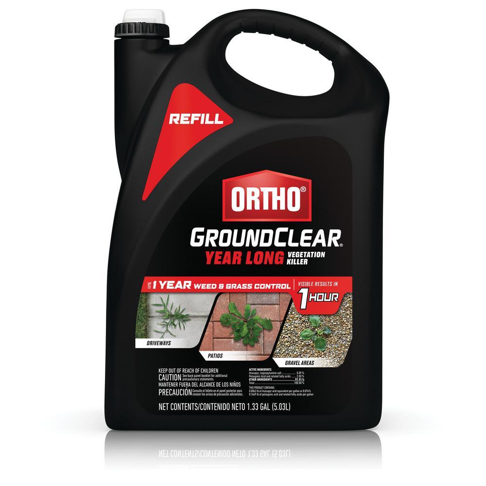 GroundClear Year Long Vegetation Killer 1.33 Gal. Refill