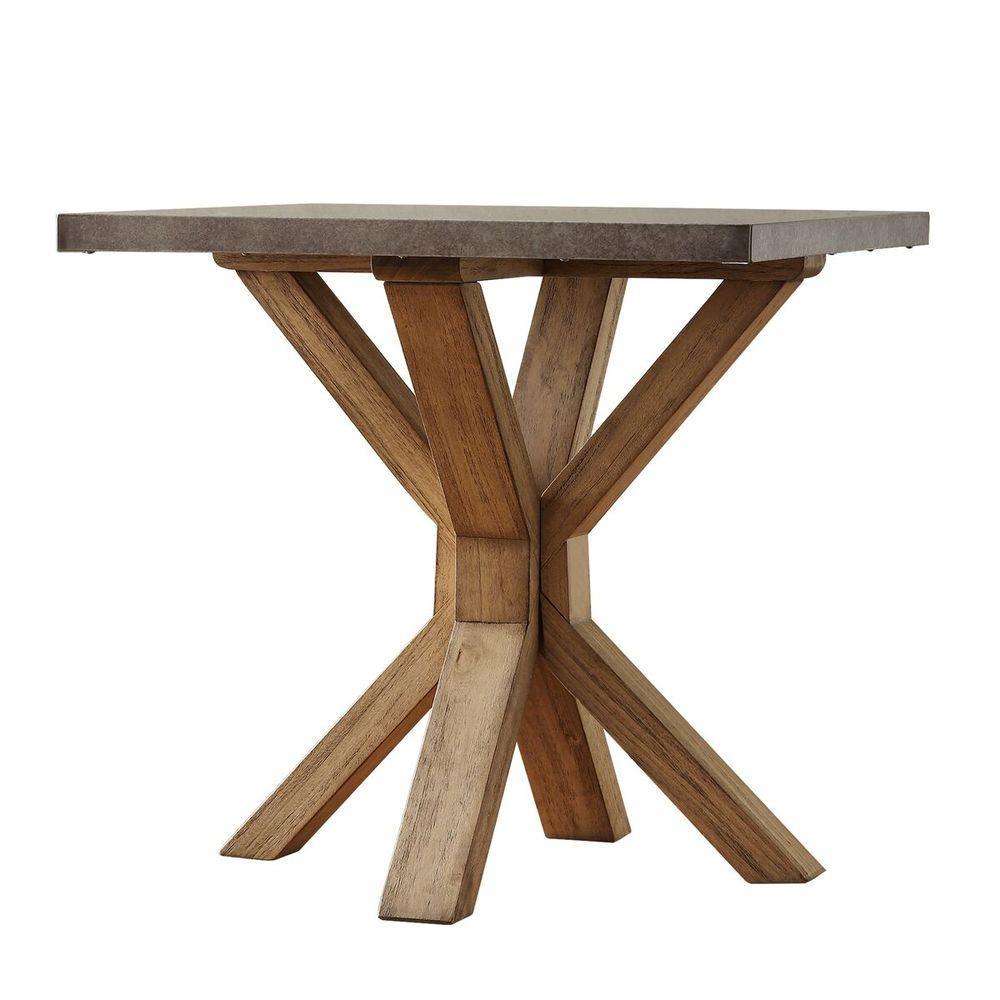 HomeSullivan Upton Light Oak End Table