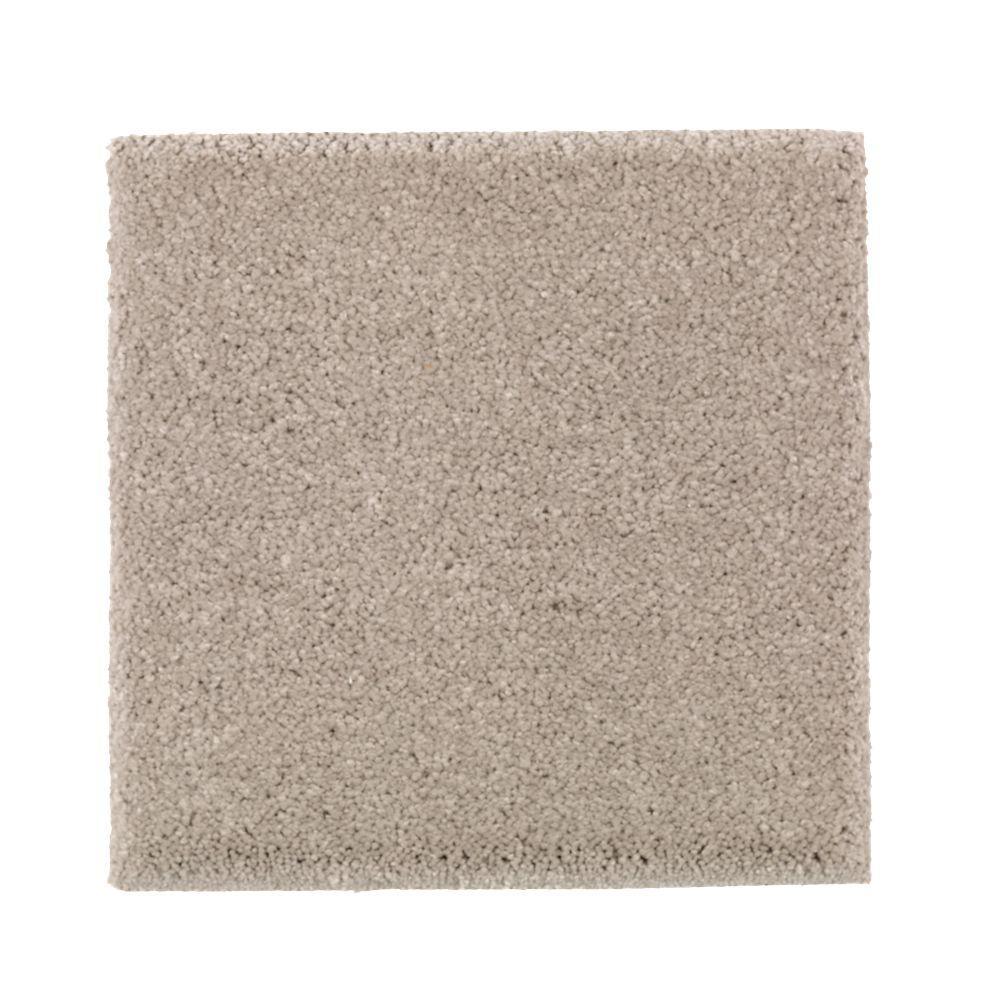 Gazelle II - Color Deserted Castle Texture 12 ft. Carpet