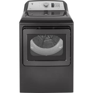 7.4 cu. ft. 120 Volt Diamond Gray Gas Vented Dryer, ENERGY STAR
