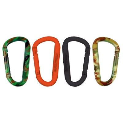 Assortment 4PCS 304 Stainless Steel Locking Carabiner Quick Link Chain Rope Connector and Spring Snap Hook Clip 5//16in M8