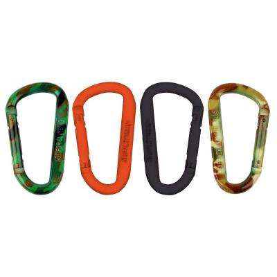 5/16 in. x 3 in. Assorted Colors Sportsman's Gear Clip Spring Link