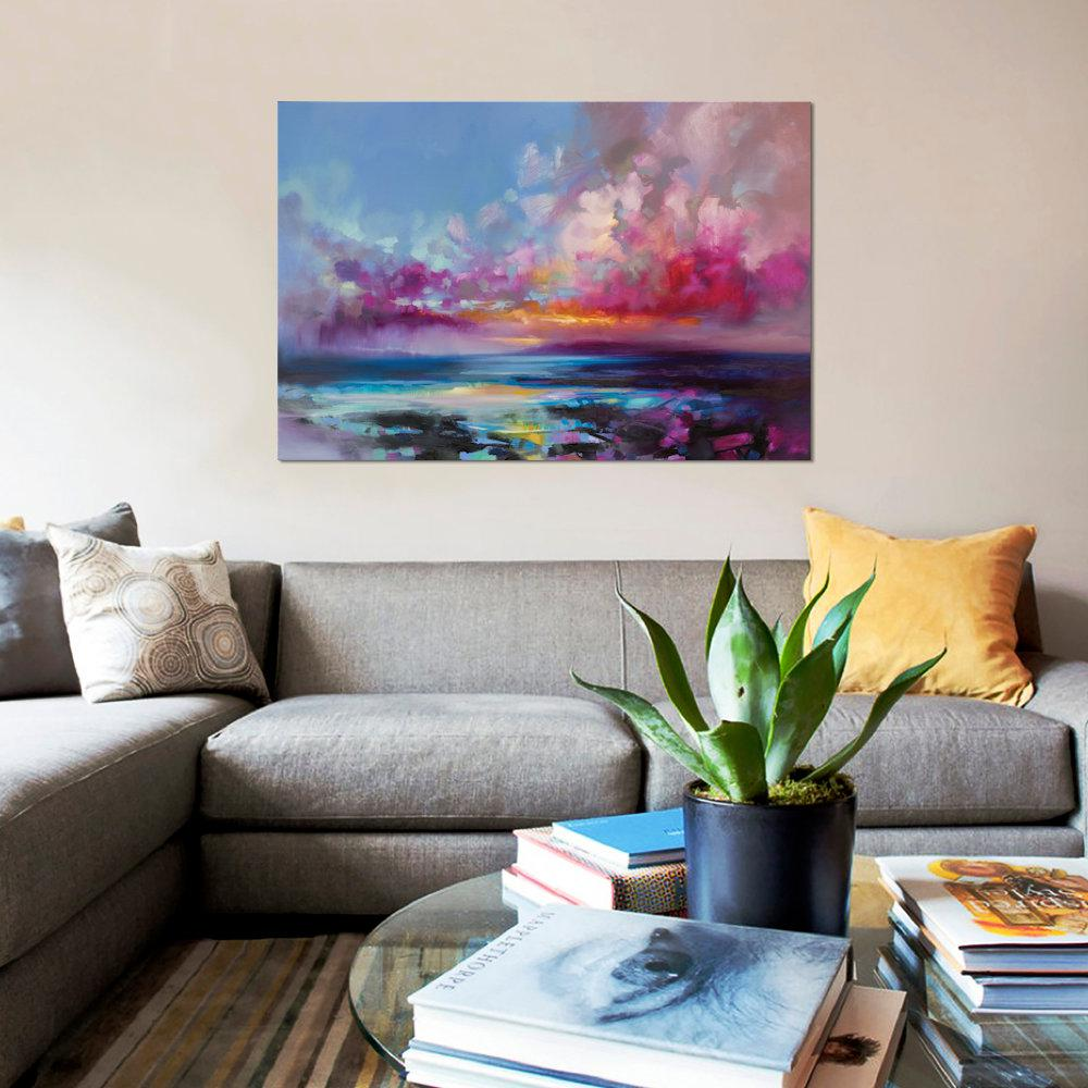 icanvas 40 in x 26 in arran glow by scott naismith printed
