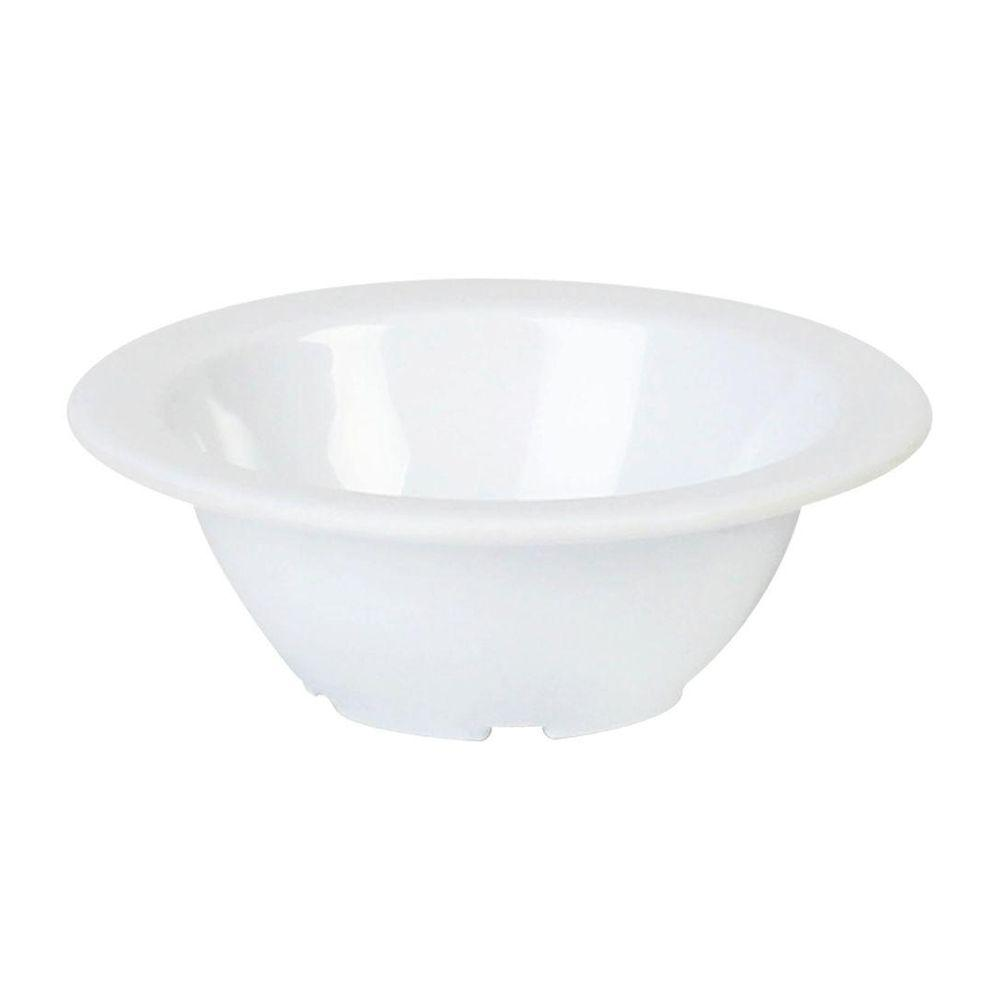 Coleur 4 oz., 4-3/4 in. Fruit Bowl in White (12-Piece)