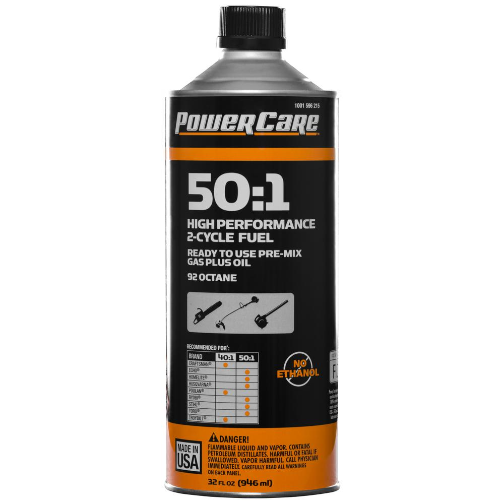 Power Care 32 oz. 50:1 Pre-Mixed Small Engine Fuel