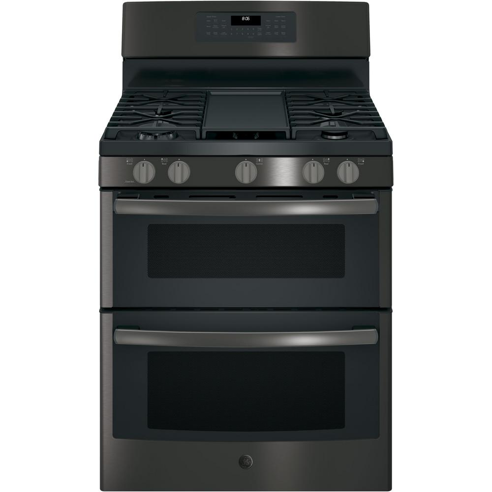This Review Is From 6 8 Cu Ft Double Oven Gas Range With Self Cleaning And Convection Lower In Black Stainless Steel