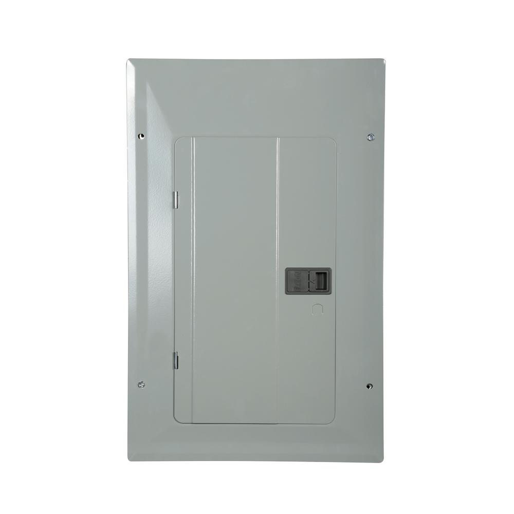 Eaton Br 125 Amp 20 Space 24 Circuit Indoor Main Breaker Loadcenter With Combination Cover Br2024b125 The Home Depot