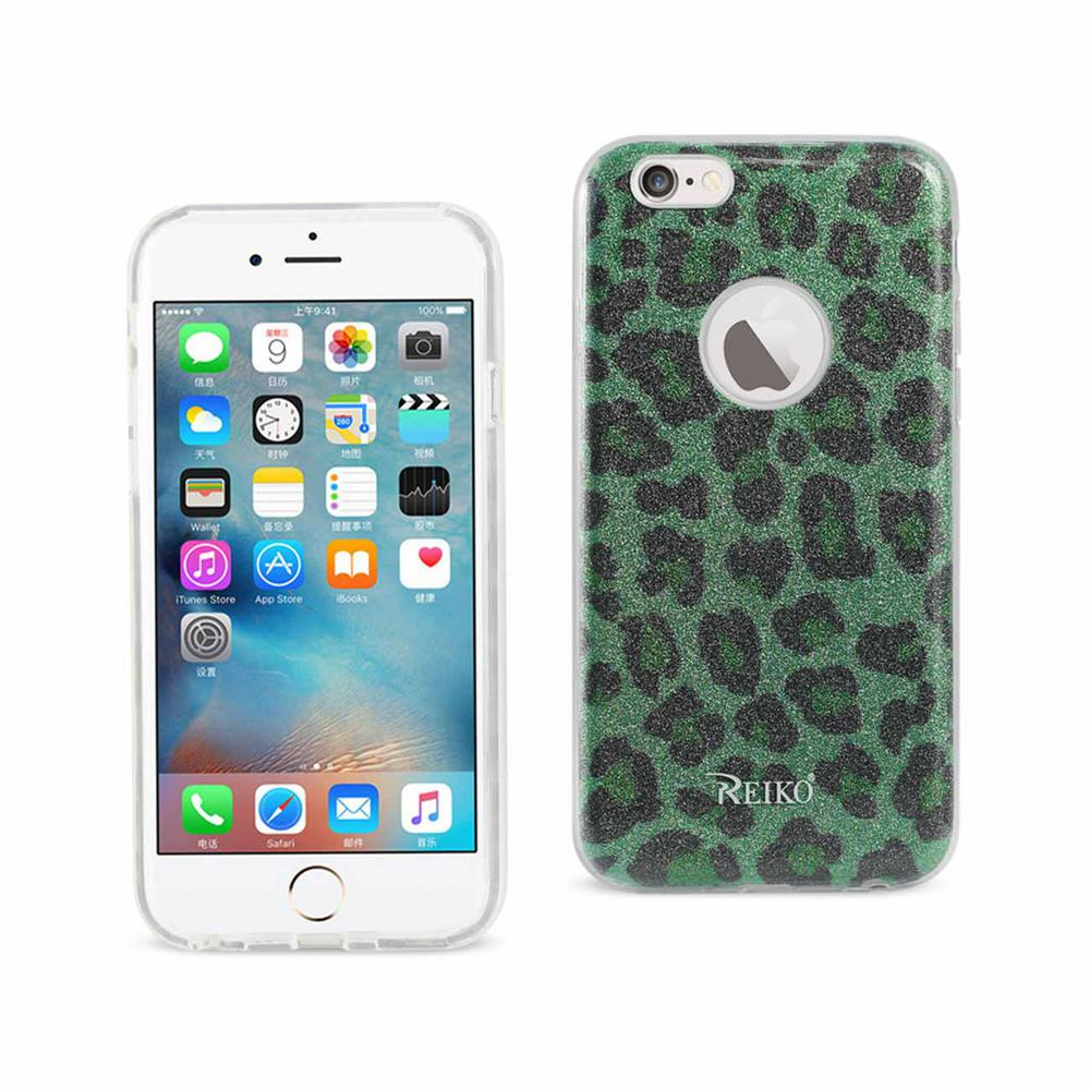 buy online b7b0d ccfd3 REIKO iPhone 6/6S Design Case in Leopard Green