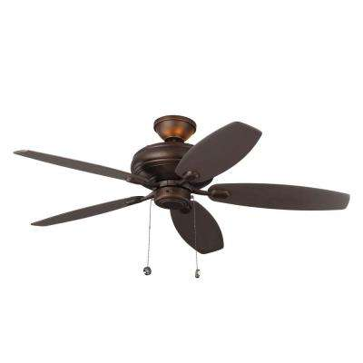 Centro Max Uplight 52 in. Indoor Roman Bronze Ceiling Fan