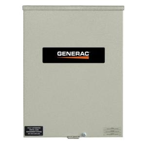 Generac 400 Amp Service Rated 120/240 Single Phase NEMA 3R Smart Transfer Switch by Generac