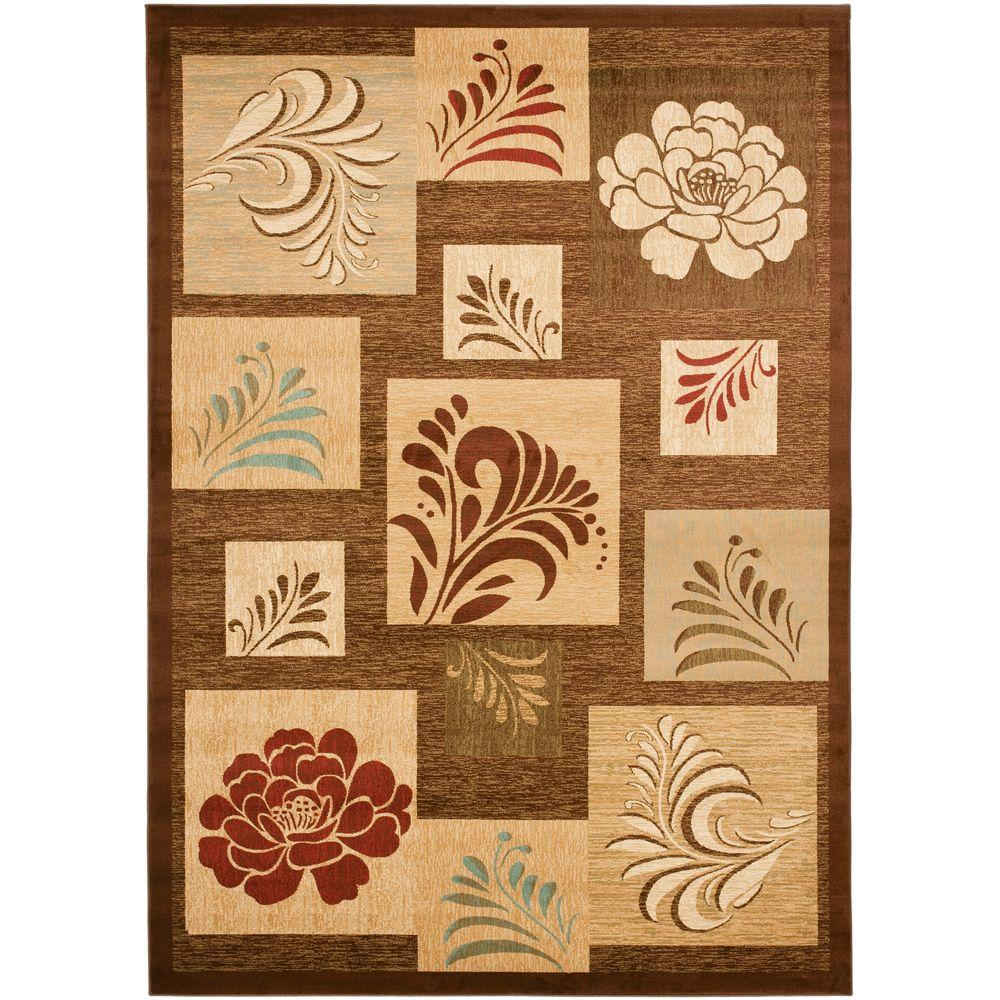 Safavieh Lyndhurst Brown/Multi 8 ft. x 11 ft. Area Rug
