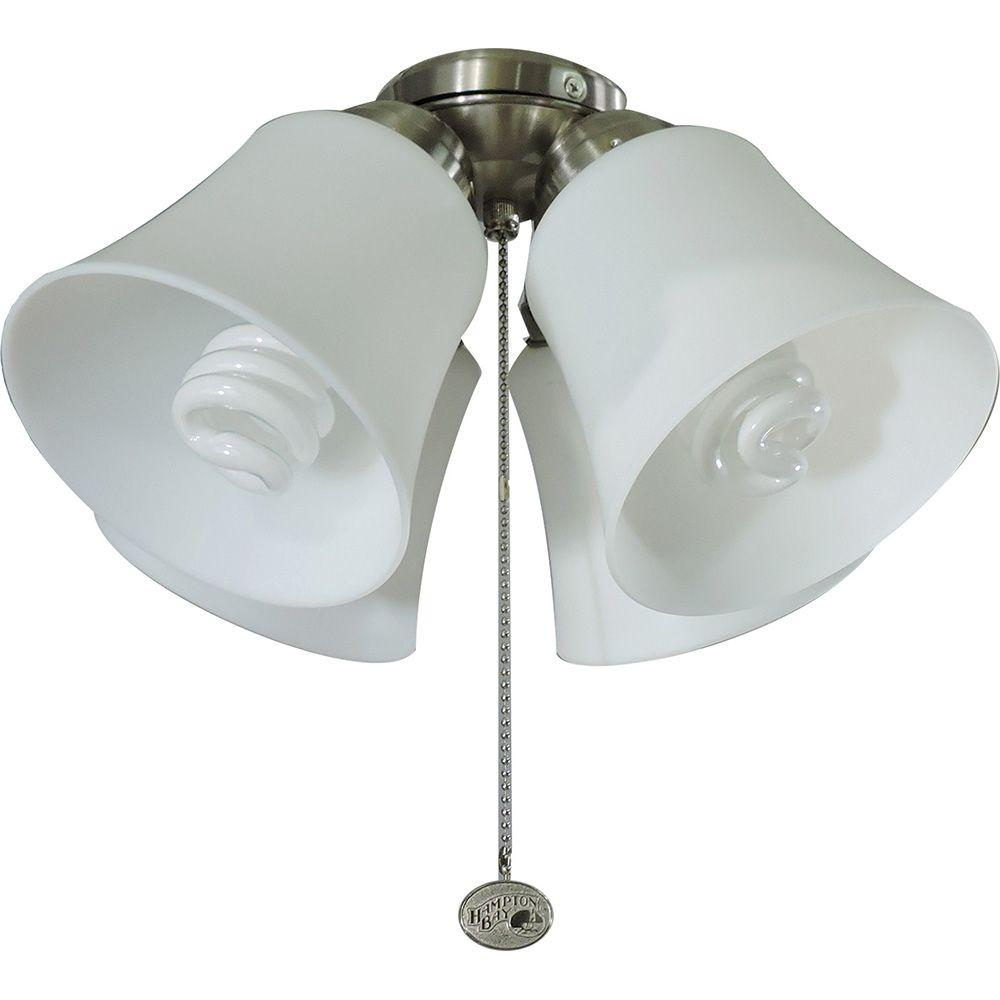 p lighting brushed led vaurgas kit light nickel ceiling depot fans fan lights hampton the home indoor with in bay