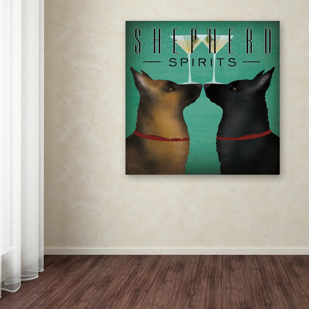 Trademark Fine Art - Special Values - Black - Canvas Art - Wall Art ...