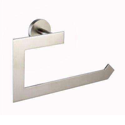 Imperium Bathroom Towel Ring in Brushed Nickel
