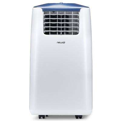 Premium 14,000 BTU (8,600 BTU, DOE) Ultra Compact Portable Air Conditioner and Heater with Remote Control - White