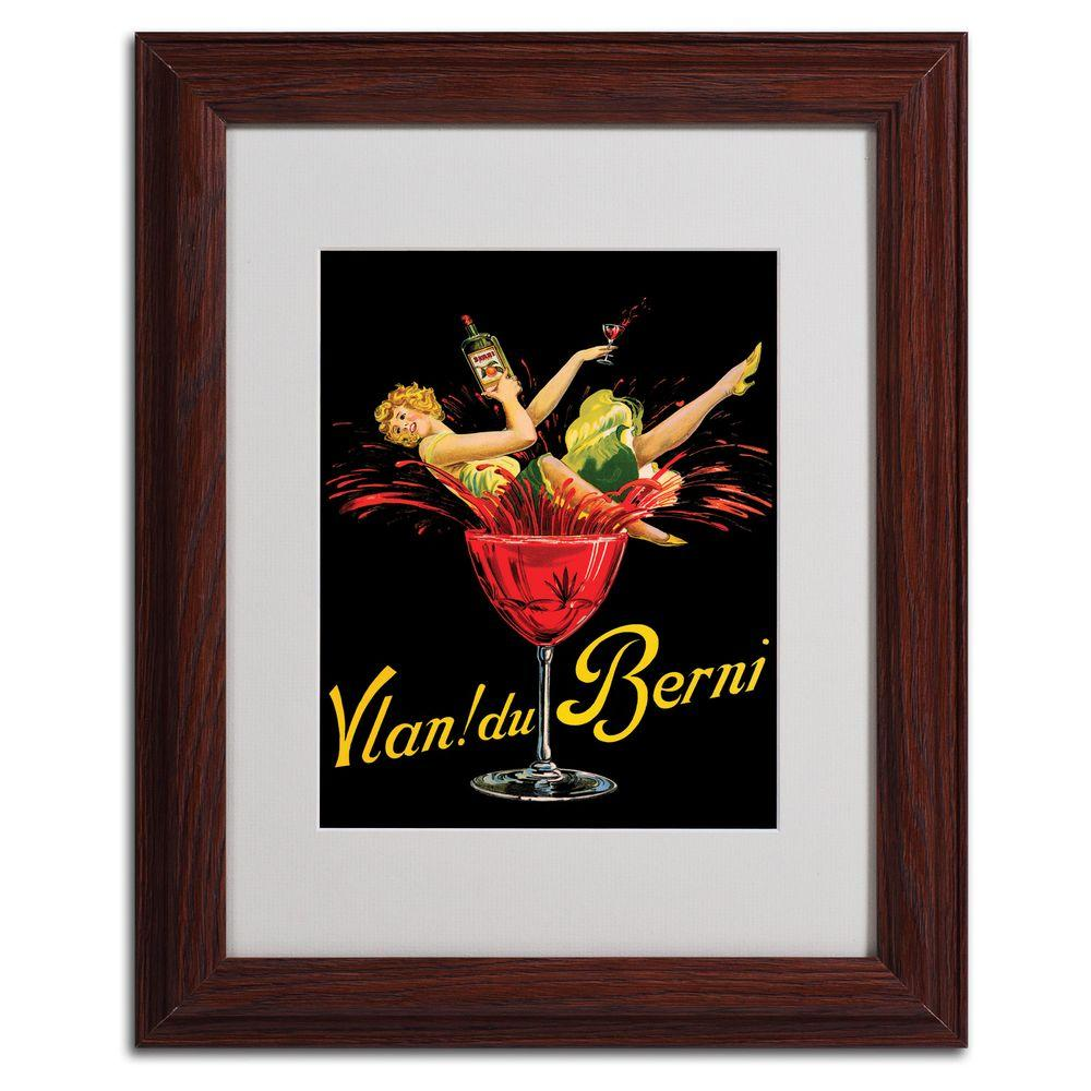 11 in. x 14 in. Vlan du Berni Matted Framed Art