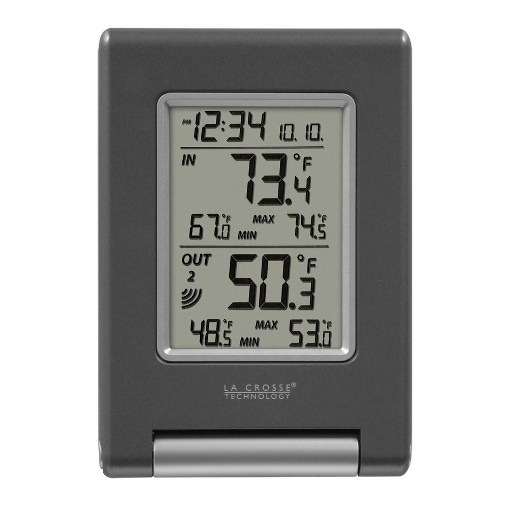 La crosse technology wireless temperature station with min - Exterior painting temperature minimum ...
