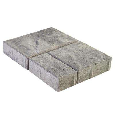 Panorama Demi 3-pc 7.75 in. x 7.75 in. x 2.25 in. Granite Blend Concrete Paver (240 Pcs. / 103 Sq. ft. / Pallet)
