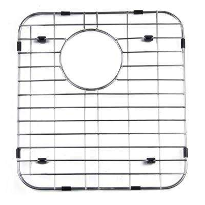 GR512R 13.75 in. Grid for Kitchen Sinks AB512-W in Brushed Stainless Steel