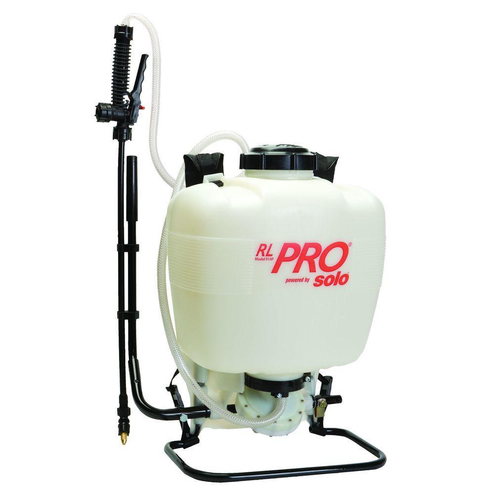 RL Flo-Master Pro 4 Gal. Diaphragm-Pump Backpack Sprayer