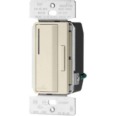 Accell Smart Dimmer Multi-Location Accessory with 10-Second Delay, Light Almond