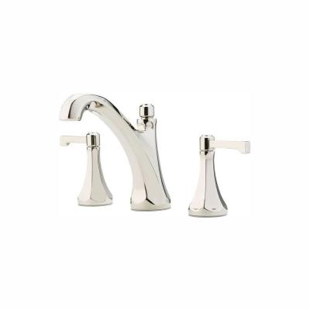 Arterra 8 in. Widespread 2-Handle Bathroom Faucet in Polished Nickel