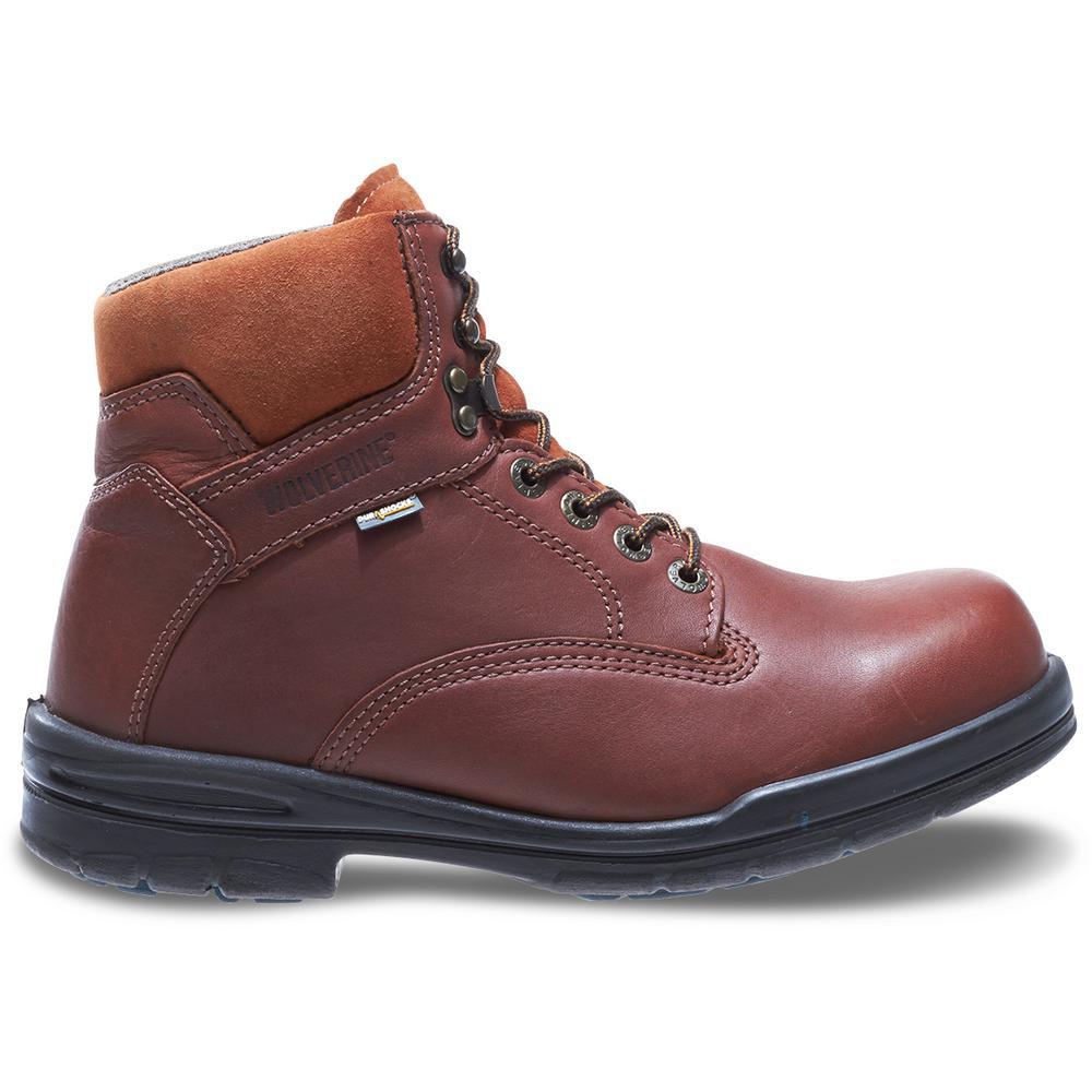 """""""Men's Durashocks SR Brown Full- Grain Leather 6"""" Boot"""""""