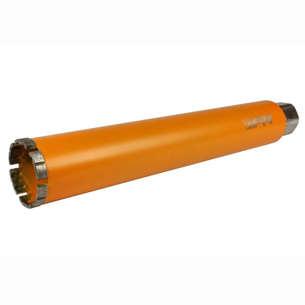2-1/2 in. Diamond Turbo Core Drill Bit for Concrete Drilling