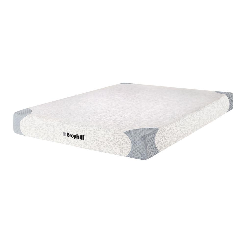 Broyhill Sensura 8 in. King Firm Memory Foam Mattress MEFRB6081EK