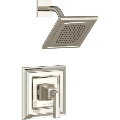 Town Square S Water Saving Shower Faucet Trim Kit for Flash Rough-in Valves in Polished Nickel (Valve Not Included)