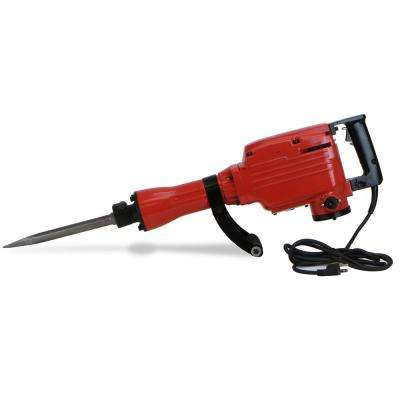 2200-Watt Heavy-Duty Electric Demolition Jack Hammer Concrete Breaker