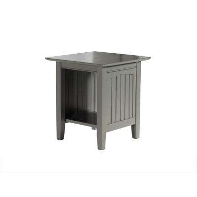 Nantucket Atlantic Grey End Table
