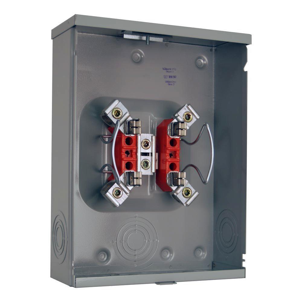 200 Amp Ringless Overhead/Underground Meter Socket