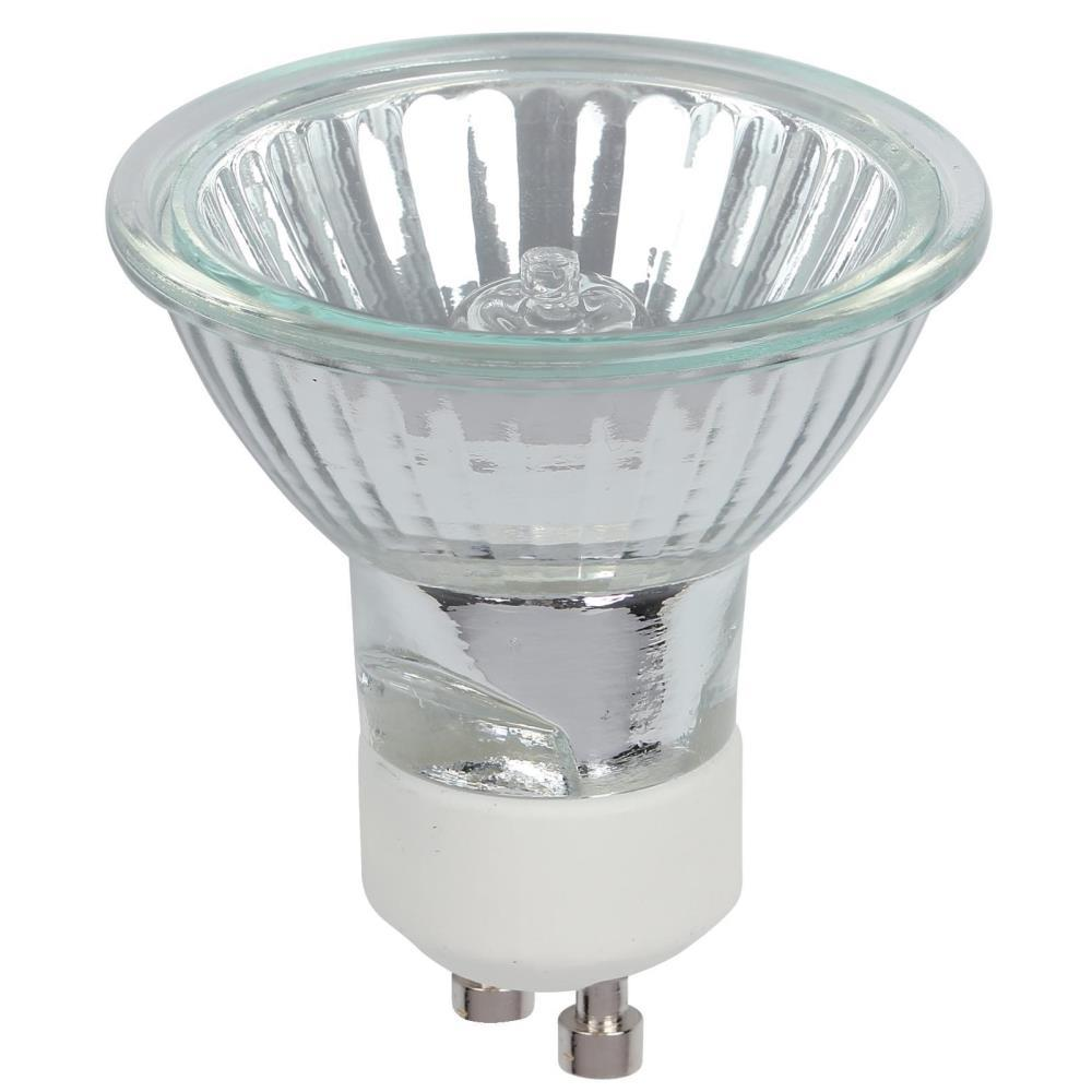 25-Watt Halogen MR16 Clear Lens GU10 Base Flood Light Bulb